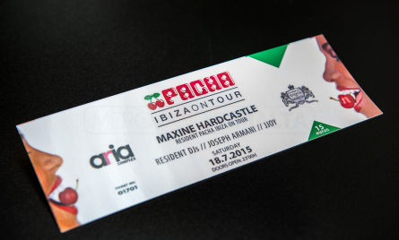 Each ticket is custom designed for you and printed on the highest quality ticket stock with advanced security features